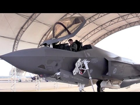 First Australian F-35 Pilot Train At Eglin Air Force Base