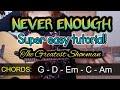 Never Enough - Loren Allred Super Easy Chords | Guitar Tutorial | The Greatest Showman