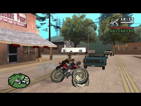 Chain Game 100 Mod - GTA San Andreas - Small Town Bank - Badlands Mission 9