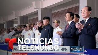 Crece la inquietud ante la amenaza de Trump a Corea del Norte | Noticiero | Noticias Telemundo
