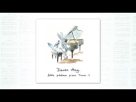 """""""Little Pokémon Piano Tunes""""    FULL LIVE PIANO ALBUM :D"""