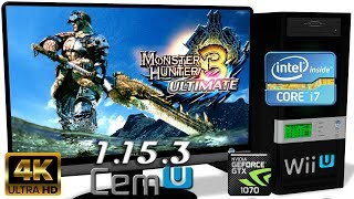 CEMU 1.15.3 [Wii U] - Monster Hunter 3 Ultimate [4K-Gameplay] OpenGL #2