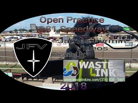 Open Practice #2, 81 Speedway, 2018