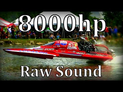 """8000hp Dragboats in San Angelo,Texas """"Raw Sound"""""""