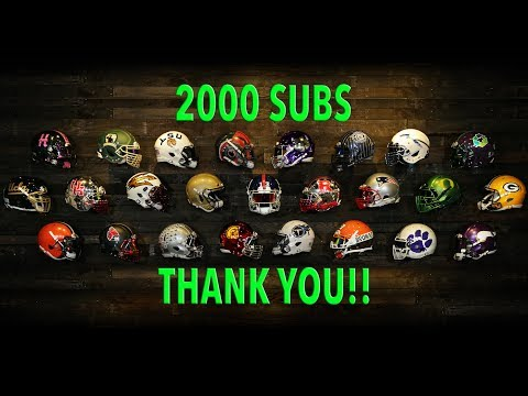Thank You, 2,000 Subscriber Milestone, and Updated Helmet Wall First Look
