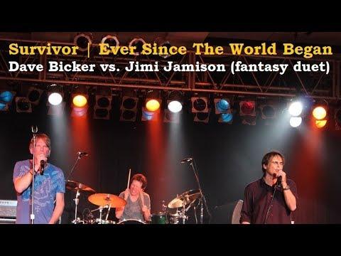 Survivor - Ever Since the World Began (Dave Bickler and Jimi Jamison DUET)