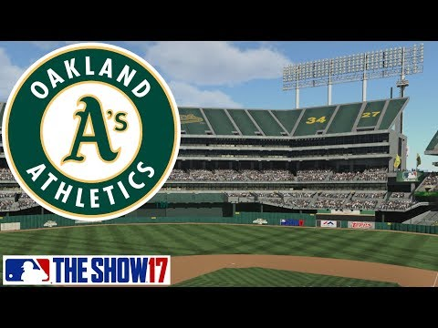 Opening Day Year 4 - MLB The Show 17 - Franchise Mode - Oakland ep. 21