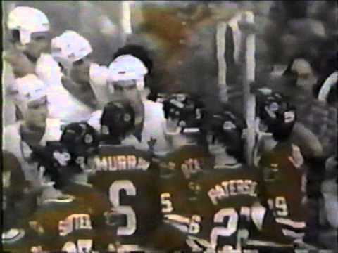 Minnesota vs Chicago Brawl 1983