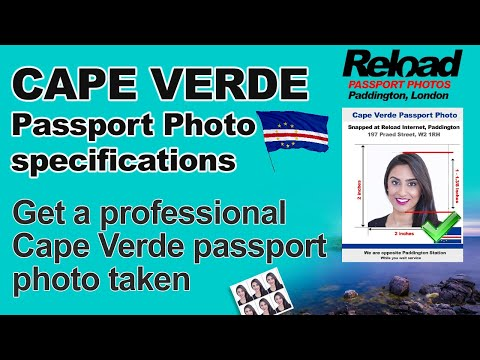 Get your Cape Verde Passport Photo or Visa Photo snapped in Paddington, London