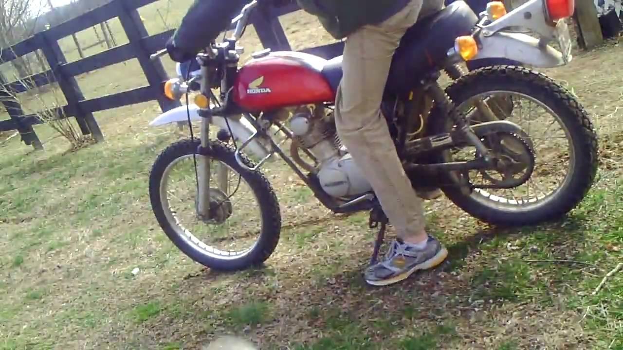 Very Old 1974 Honda Xl100