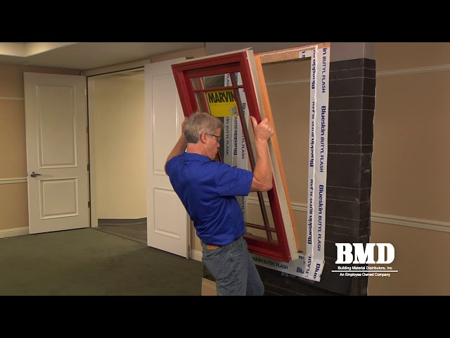 BMD Training Video Part 4 - Remodel Window Installation Video - Nail Fin Window Installation