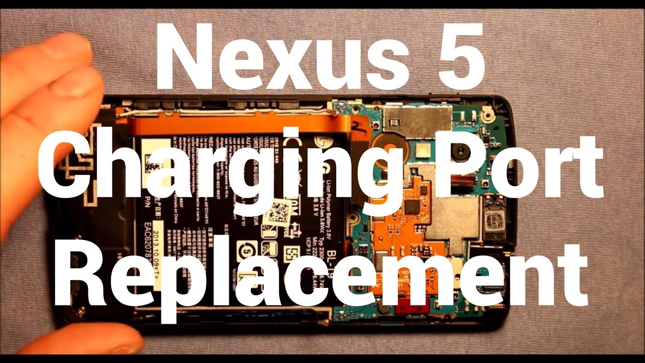 hight resolution of nexus 5 charging port replacement how to change