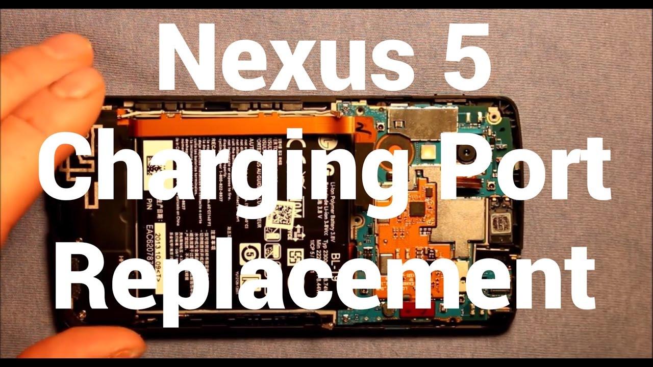 nexus 5 charging port replacement how to change [ 1280 x 720 Pixel ]