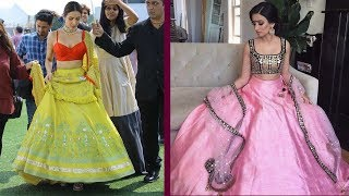 Latest Fashionable Cancan Lehenga Designs