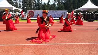 2019中华传统文化节第11届温哥华泼水节暨庆祝中华人民共和国成立70周年得到了中国驻温哥华总领馆和加拿大三级政府的大力支持。