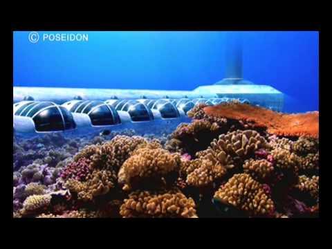 Under water resort in Fiji
