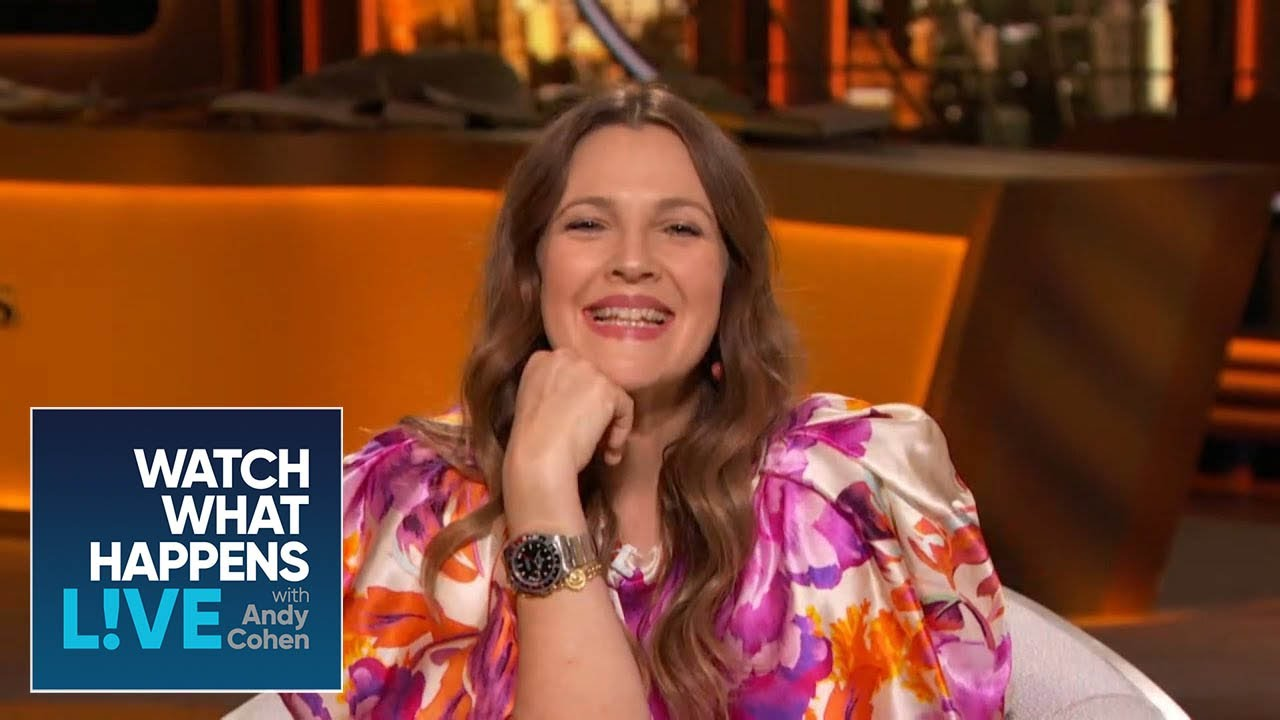 Drew Barrymore Calls Online Dating a 'Wake-Up Call' | WWHL