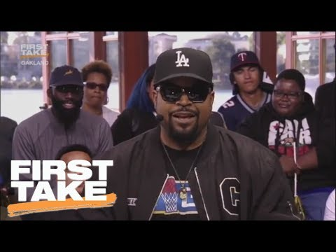 Ice Cube Loves LaVar Ball's Promotion Of Lonzo | First Take | June 2, 2017