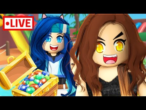 HILARIOUS MINI-GAMES w/ The Krew | Roblox Livestream