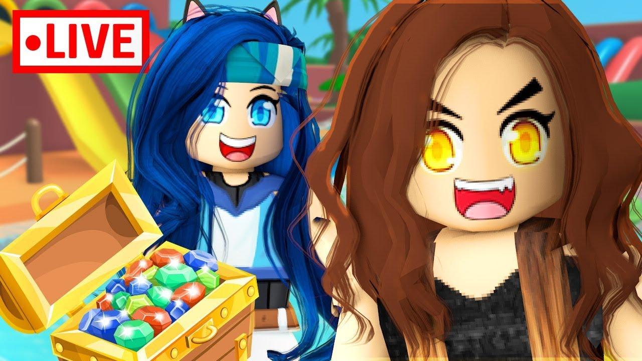 Hilarious Mini Games W The Krew Roblox Livestream Youtube