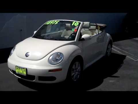 Used 2010 VW Beetle Convertible (For Sale STK#: 244ET)