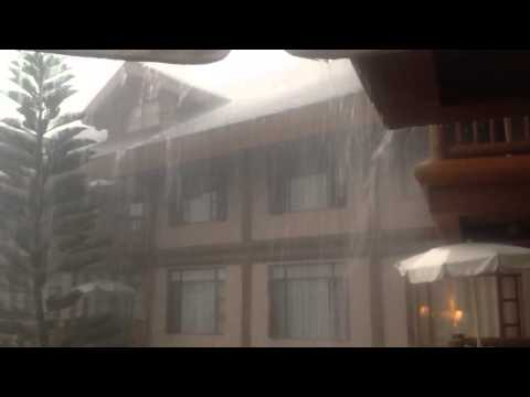 A Typical Rain Storm in Baguio