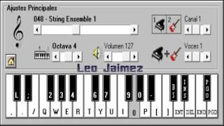 Mi corazón encantado - Genkidama ( Adiós Goku ) - Dragon Ball GT - Piano Electrónico 2.5