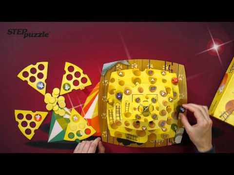 Видео инструкция к настольной 3D  игре Кошки -Мышки. Ловушки Сырной Пирамиды