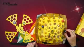 """Видео инструкция к настольной 3D  игре """"Кошки -Мышки. Ловушки Сырной Пирамиды"""