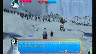 Happy Feet Two Nintendo Wii: Ramon Gameplay with Bamba Pinguino