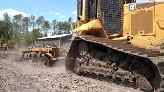 making land productive again with d5 dozer, disc and drag