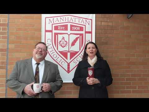 Coffee Break Tuesday hosted by Manhattan Catholic Schools