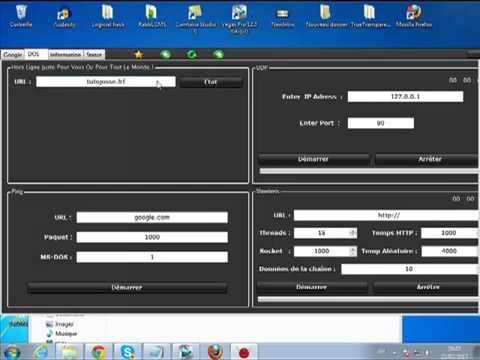 Hacker un site  DDOS   BRUTUS )  + Hacker une DB