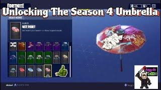 Unlocking The Season 4 Umbrella | Fortnite Battle Royale