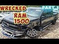 Bought Wrecked 2016 Dodge RAM 1500 from Copart to Rebuild (Part 1)