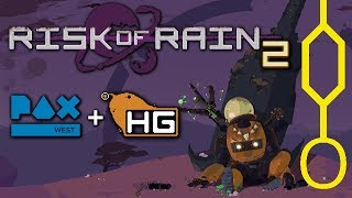 Risk of Rain 2: Interview with Hopoo and gameplay @PAX 2018!