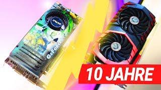 10 Jahre GPU VERGLEICH! Das DUELL: 8800 GTX vs. 1080 Ti