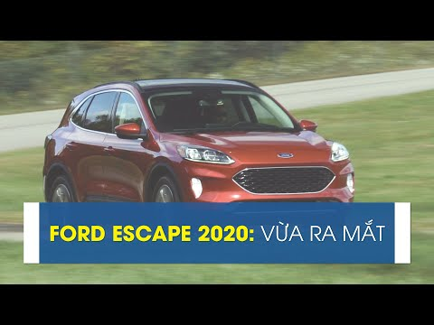 Ford Escape 2020 vừa ra mắt [CAFEAUTO]