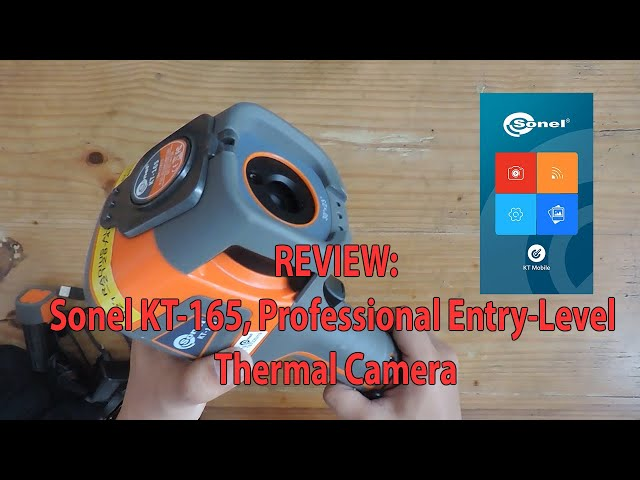 Review: Sonel KT-165, Kamera Thermal Professional Entry-Level
