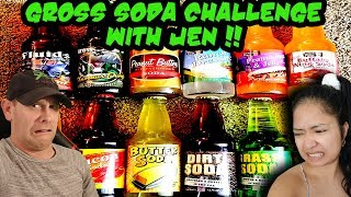 Gross Soda Claw Machine Challenge WITH JEN! Livestream!