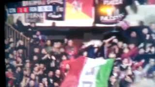 Gol di Sarno 1-0 Catania- Reggina.