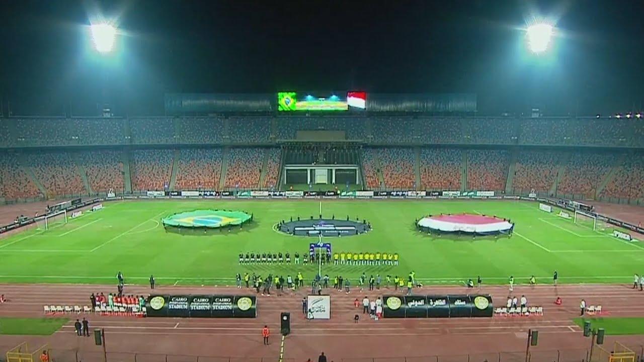 مصر و البرازيل مباراة كاملة 1-2 Egypt vs Brazil Full Match