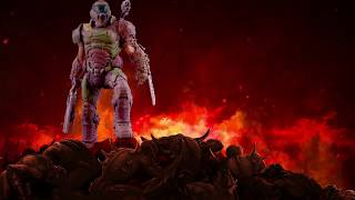 Modern Icons Doom Slayer statue