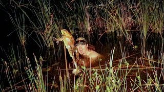 BULLFROG Gigging in Texas! {Catch Clean Cook} FROGZILLA