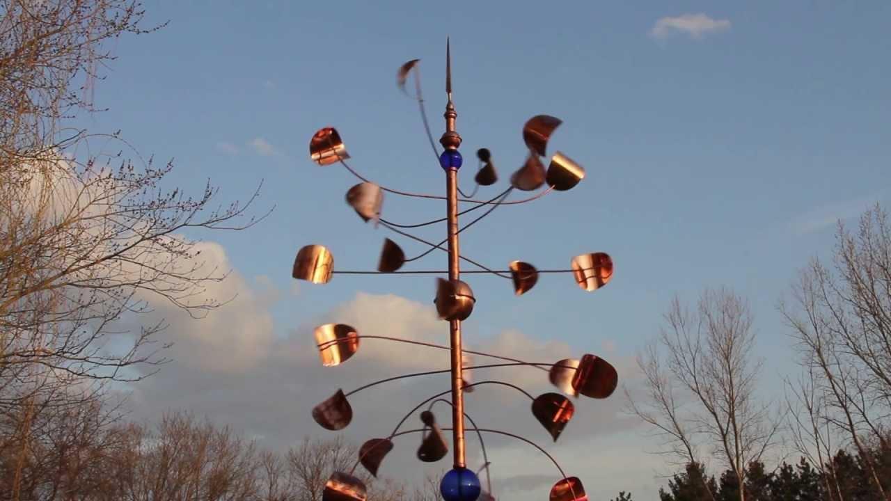 Metalshop Copper Wind Sculpture - YouTube