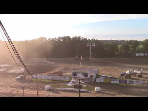 Butler Motor Speedway Sprint Heat #1 7/15/17