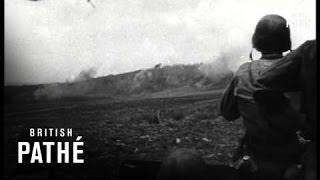 Yanks Land On Japs Base Near Tokyo (1940-1949)
