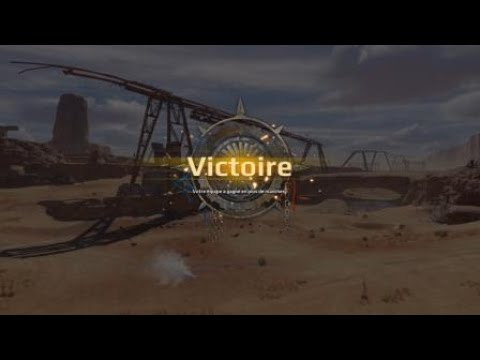 Crossout 1GUN clan wars lancelot style