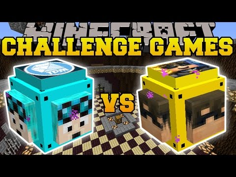 Thumbnail: Minecraft: DANTDM VS SKYDOESMINECRAFT CHALLENGE GAMES - Lucky Block Mod - Modded Mini-Game