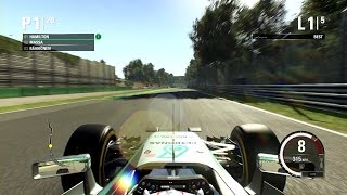 Codemasters F1 2015 Gameplay (PC) - Lewis Hamilton | Monza, Italy - RACE